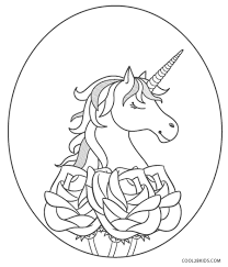 Personalized unicorn birthday coloring page, coloring sheet, unicorn seventh birthday, coloring printable, unicorn birthday, digital product. Unicorn Coloring Pages Cool2bkids