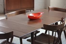 dinning room expanding round table modern expandable dining table west elm folding dining table