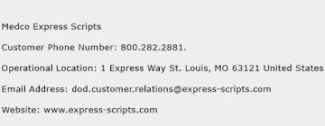 Express Scripts Customer Service Medco Express Scripts Number Medco Express Scripts