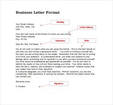 Standard Letter Sample Standard Business Letter Format 7 Free Documents In Pdf Word