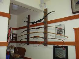 archery bow rack plans