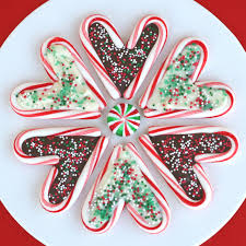 Christmas Decorations Using Candy Canes Candy Cane Hearts Glorious Treats 57