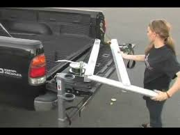 How to Use SpitzLift's Pickup Receiver Hitch Crane - YouTube