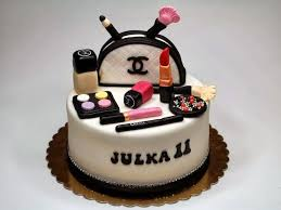 makeup bag cake tutorial chanel designer handbag bag
