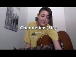 chandelier sia cover by audrey spell