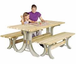 hopkins 90182onlmi 2x4basics picnic table kit