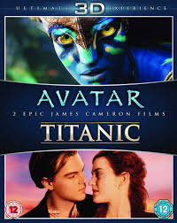 com avatar titanic blu ray d blu ray region  com avatar titanic blu ray 3d blu ray region uk import kate winslet leonardo dicapreo james cameron movies tv