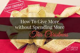 instead of giving random what nots why not give gifts that include and reflect a piece of our heart our tangible presence our time
