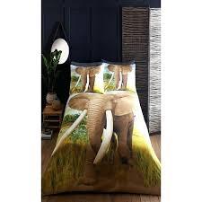 dunelm animal print duvet cover bed bath elephant sets 3 2