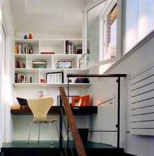hidden home office. small home office shelves hidden