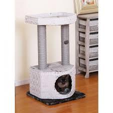 Cat safe furniture Litter Box Wovenecofriendlycatcondofurniture700x700jpg Cozy Cat Furniture Woven Ecofriendly Cat Condo Furniture