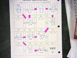 worksheets two step equations 499410 myscres two step maze here math 7 with mrs van march 21 22