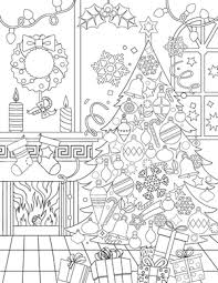 Small Picture New Adult Coloring Pages Christmas Fox Horse Whale and More