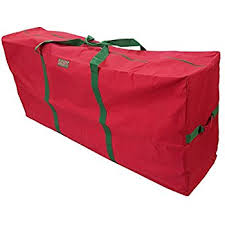 K-Cliffs Heavy Duty Christmas Tree Storage Bag Fit upto 9 Foot Artificial  Tree Holiday