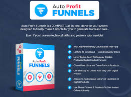 Simple Products Profit Auto Profit Funnels Pro App Software By Glynn Kosky Review
