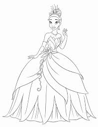 free printable princess tiana coloring pages for kids inside