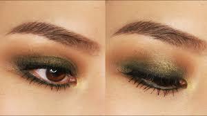 5 minute green smokey eye makeup tutorial
