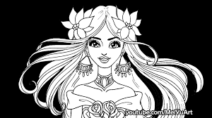 Coloring Pages For Kids Three Marker Challengd With 14 Color Drawing