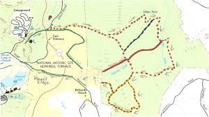 gone hikin' january 2011 Loantaka Park Trail Map trail map french creek state park trail map i did find this map somewhat confusing to follow with trail names instead of colors so i colored in the trails 114 Loantaka Way Madison NJ