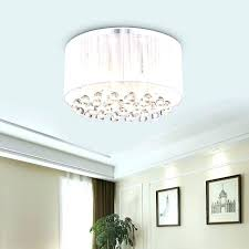 semi flush mount crystal chandeliers flush mount drum ceiling light belle 4 light white drum chrome semi flush mount crystal chandeliers
