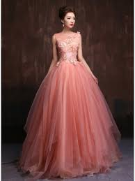 ball dresses online. tidebuy trendy tulle neck appliques pearls a-line quinceanera dress \u0026 ball gown dresses from online