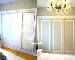 Cheap Closet Door Ideas Closet Door Paint Inexpensive Closet Door