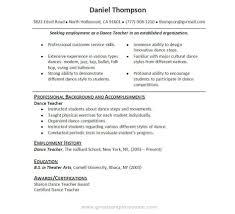 Dancers Cv Template Gopitch Co Dancer Throughout Dance Resume in Dance  Resume Template Free