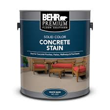 Behr Solid Concrete Stain Color Chart Solid Color Concrete Stain Behr Premium Behr