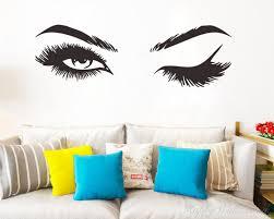 beauty eyes modern wall art beauty