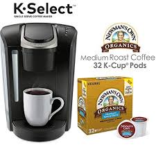 Keurig Model Comparison Chart Keurig K Select Coffee Maker Single Serve K Cup Pod Coffee Brewer Black And Newmans Own Special Blend K Cup Pods 32 Count