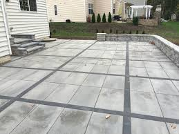 concrete patio pavers best of sets for trend home depot square diy concrete patio pavers