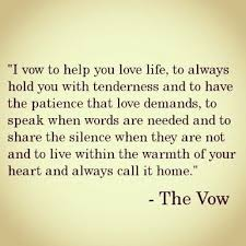 The Vow Quotes Awesome Quotes About Vow Movie 48 Quotes