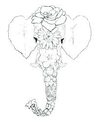 Elmer The Elephant Coloring Page The Elephant Coloring Page Pages