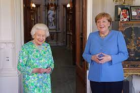 Queen hosts German Chancellor Angela ...