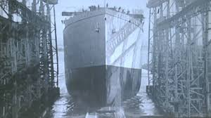 Image result for Titanic launching,
