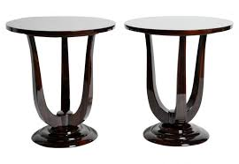 art deco style side table end tables dering hall coffee u