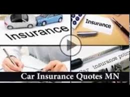 Car Insurance Quotes Mn Adorable Car Insurance Quotes MN YouTube