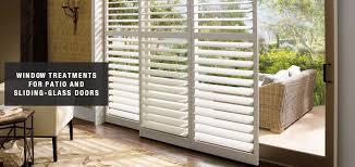 For Sliding Glass Doors Blinds Shades Shutters For Sliding Glass Doors Belmar Window Shop
