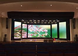 high definition full color led frame display pixel 5mm for stage background