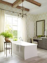 Master bathroom color ideas Faux Wood Tile Floor Enlarge Traditional Home Magazine Design Ideas For Neutral Color Master Bathrooms Traditional Home