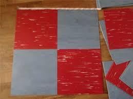 1950s linoleum flooring x fab retro vintage s vinyl linoleum floor tiles lot red and blue