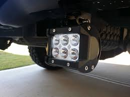 Led Auxiliary Backup Lights How To Install Rear F150 Cree Led Reverse Light Bars