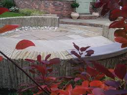 Small Picture Circular Stone Seating Area