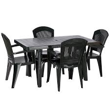 white plastic patio table and chairs. White Plastic Garden Table And Chairs Black F276 Cnxconsortium Org Outdoor Patio A
