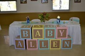 Amazing Ideas Baby Shower Blocks Sweet Looking And The Begining Of November