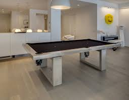 modern pool table dining table.  Table Dining Table And Black Pool Combo With Masculine Frame Design For  Men Interior Room Throughout Modern
