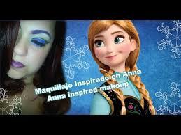 disney 39 s frozen princess anna makeup tutorial cutcrease maquillaje inspirado en anna de disney you