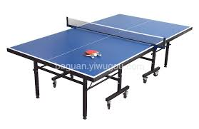 international round table tennis table single folding ping pong table
