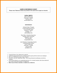 Resume References Sample Best Of Resume Reference Page Example