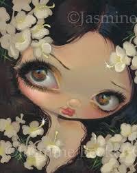 Poisonous Beauties 7 Hemlock Jasmine Becket-Griffith CANVAS PRINT fairy pop  art   Jasmine becket griffith, Fairy art, Becket
